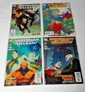 Superman / Shazam: First Thunder #1-4 Full Run/Story/Set (Nov 2005, DC)