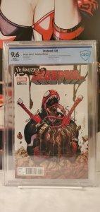 Deadpool #28 (2017) CBCS 9.6 Lopez Venomized Variant Cover Venom