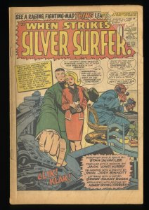 Fantastic Four #55  Silver Surfer! Coverless