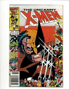 Uncanny X-Men # 211 NM Marvel Comic Book Wolverine Wendigo Storm Cyclops DS4