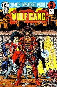 Comics' Greatest World: Steel Harbor #3, NM + (Stock photo)