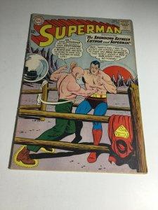 Superman 164 Vg Very Good 4.0 Water Damage DC Comics