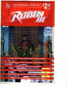 5 Comics Robin 3 1 Blood Syndicate 30 Superman 546 Lantern 102 Hardware 45 J206