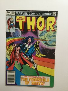 Thor 331 Newsstand Edition Near Mint Nm Marvel