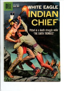 Indian Chief #33 - White Eagle Painted Cover - Dell - 1959 - (-VF)