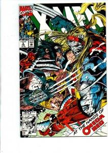 X-Men #5 - 1st Maverick - 2nd Omega Red - Jim Lee - 1991 - (-Near Mint)