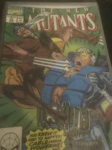 Marvel The New Mutants #93 Mint Feat Wolverine