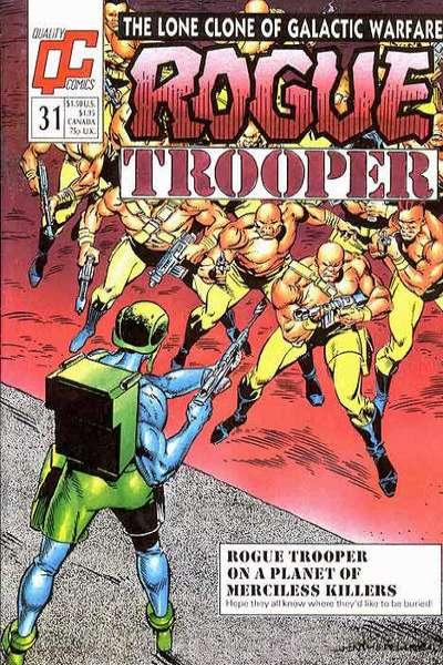 Rogue Trooper (1986 series) #31, VF (Stock photo)