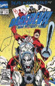 Daredevil #308 VF; Marvel | save on shipping - details inside