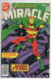 MISTER MIRACLE #22 FN/VF DarkSeid, 1971 1978 more DC in store