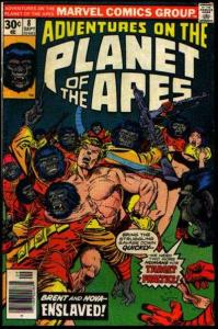 Adventures on the Planet of the Apes #8, Fine- (Stock photo)