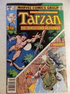 TARZAN LORD OF THE JUNGLE # 24