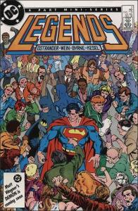 DC LEGENDS (1986 Series) #2 VF