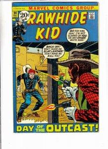 Rawhide Kid # 94 strict FN appearance Black Cowboy