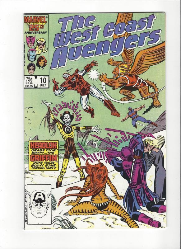 West Coast Avengers #10  NM