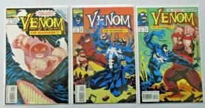 Venom The Madness #1 to #3 set 3 different books 8.0 VF (1993)