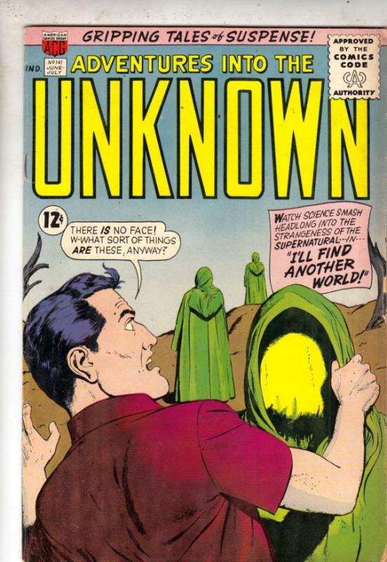 Adventures Into the Unknown #141 (Jun-63) FN/VF- Mid-High-Grade