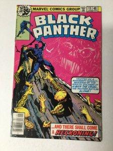 Black Panther 13 Vf- Very Fine- 7.5 Marvel