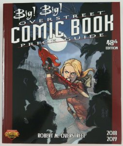 Big! Big! Overstreet Comic Book Price Guide 48th Edition 2018-2019 - Buffy cover