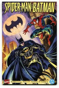 Spider-Man and Batman 1995 DC Marvel-NM- comic book