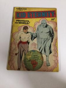 Kid Eternity Autumn Issue 7 Vg Very Good 4.0 Taped