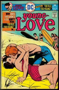 Young Love #120 1976- Bronze Age DC Romance- Jay Scott Pike cover VG+