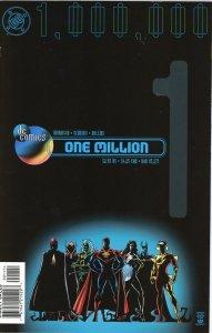 DC One Million 1  9.0 (our highest grade)  1998  Grant Morrison!