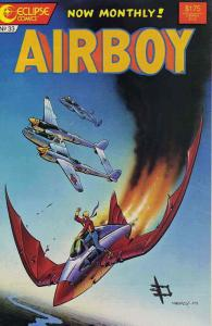Airboy #33 VF/NM; Eclipse | save on shipping - details inside
