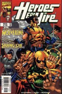 HEROES FOR HIRE (1997 MARVEL) #18 NM- AGSQE6