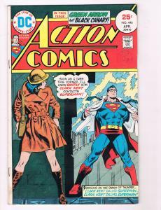 Action Comics #446 FN DC Comics Comic Book Superman April 1974 DE29