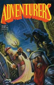 Adventurers, The (Book 1) #7 VF/NM; Adventure   save on shipping - details insid