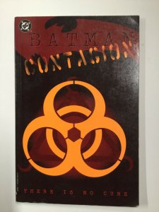Batman Contagion There Is No Cure Tpb Softcover Sc Fine Fn 6.0 Dc Comics
