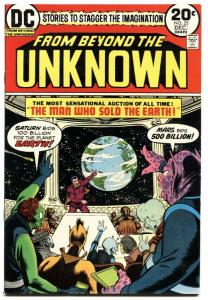 FROM BEYOND THE UNKNOWN #25-HIGH GRADE-DC SCI-FI