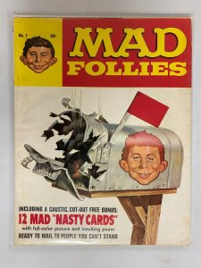 Mad Follies Ec #7 Final Issue Direct Edition With Inserts 4.0 VG (1969)