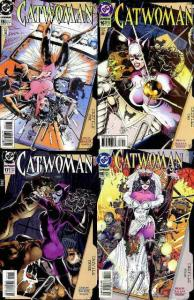 CATWOMAN (1993) 15-18  Catfile complete story arc