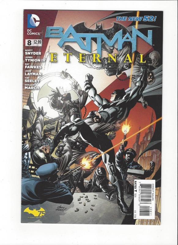 Batman Eternal  #8 DC Comics Jistice League New 52 Mint