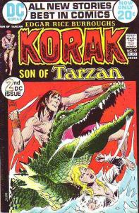 Korak Son of Tarzan #47 (Aug-72) FN Mid-Grade Korak,  CarSon of Venus