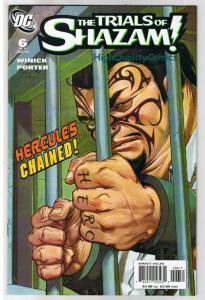 TRIALS of SHAZAM 6, NM+, Captain Marvel, Hercules, 2006 , more in store