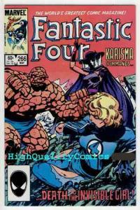 FANTASTIC FOUR #266, VF/NM, John Bryne, 1984, Thing, Karisma, more FF in store
