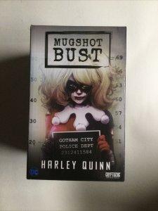 Harley Quinn Mugshot Bust Sealed in Box 2016 Cryptozoic DC Comics