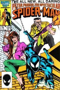 Spectacular Spider-Man (1976 series) #121, VF+ (Stock photo)
