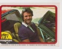 1983 Donruss MAGNUM P.I. #46