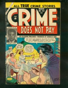 CRIME DOES NOT PAY #132 1954-CHARLES BIRO-MEDICAL HORRO VG