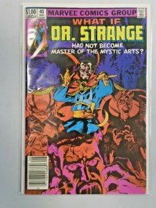Marvel What If #40 Dr. Strange 8.0 VF (1983)
