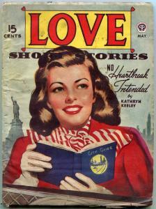 Love Short Stories Pulp May 1945- Staue of Liberty cover VG-