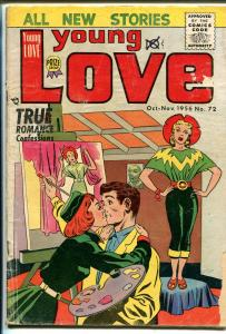 Young Love #72 1956-Prize-Jack Kirby cover & story art-spicy romance-G