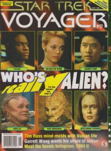 Official Star Trek: Voyager Magazine, The #17 VF/NM; Starlog   save on shipping