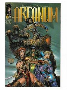 Arcanum #1 Image 1997 NM- 9.2 Brandon Peterson cover.