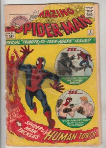 Amazing Spider-Man #8 (Jan-64) NM- Low-Grade Spider-Man