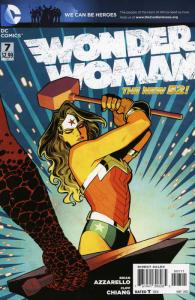 Wonder Woman (4th Series) #7 VF/NM; DC | save on shipping - details inside